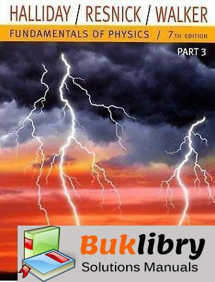 Fundamentals of physics, 7th edition solutions manual by halliday.