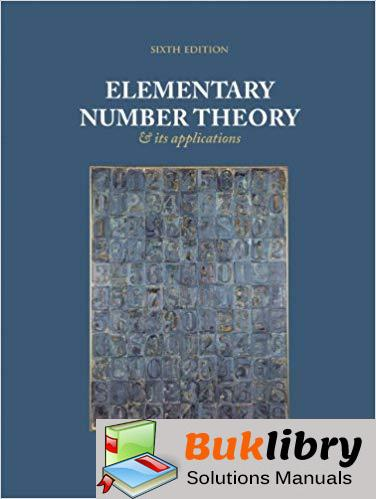 Solutions Manual Elementary Number Theory and Its Applications 6th edition by Kenneth H. Rosen