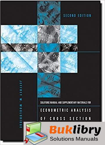 Solutions Manual Fluid Mechanics Supplementary Materials for Econometric Analysis of Cross Section and Panel Data