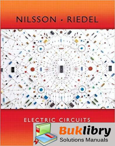 Instructors Solutions Manual Electric Circuits 10th edition by Nilsson & Riedel