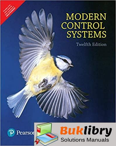 Solutions Manual Modern Control Systems 12th edition by Dorf & Bishop