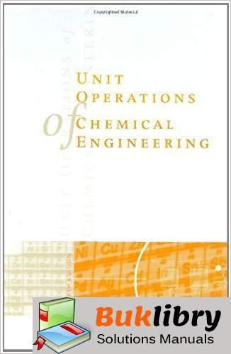 Solutions Manual Unit Operations of Chemical Engineering 6th edition by McCabe, Smith & Harriott