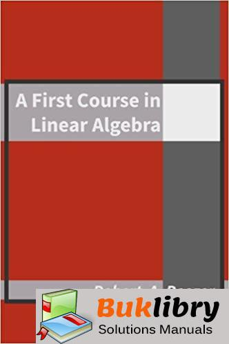 Solutions Manual A First Course in Linear Algebra 3rd edition by Robert A Beezer