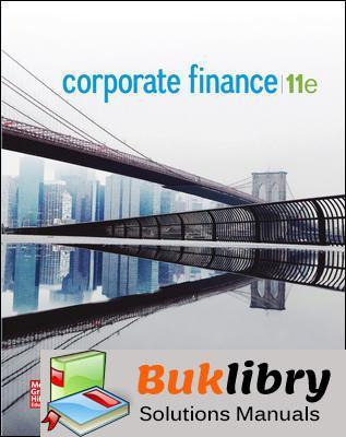 Solutions Manual of Corporate Finance by Westerfield & Jordan