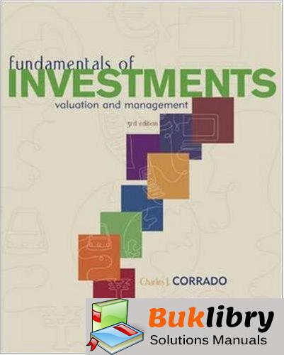 Solutions Manual of Fundamentals of Investments by Corrado