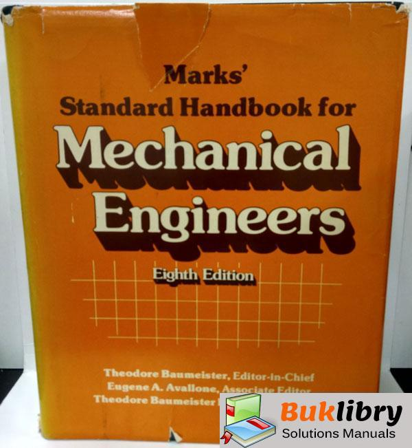 Solutions Manual of Mechanical Engineers by Baumeister