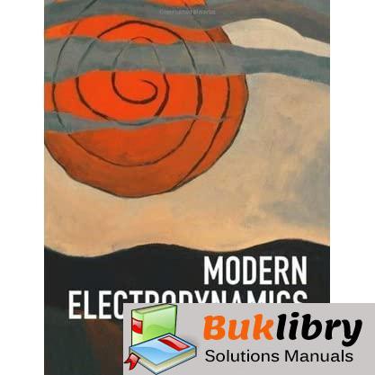 Solutions Manual of Modern Electrodynamics