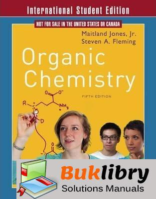 Solutions Manual of Organic Chemistry by Jones & Gingrich