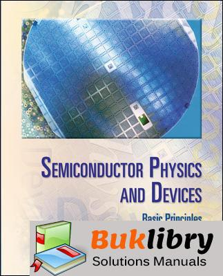 Semiconductor Physics and Devices: Basic Principles by Neamen 3rd edition
