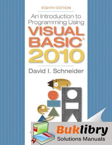Introduction to Programming Using Visual Basic 2010