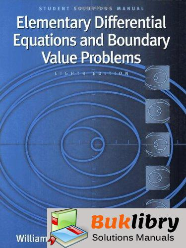 Accompany Boyce Elementary Differential Equations and Boundary Value Problems by Haines & Boyce