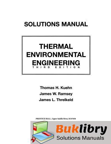 Thermal Environmental Engineering by Kuehn & Ramsey
