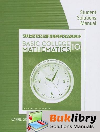 Aufmann/lockwood's Basic College Math: an Applied Approach by Aufmann & Lockwood