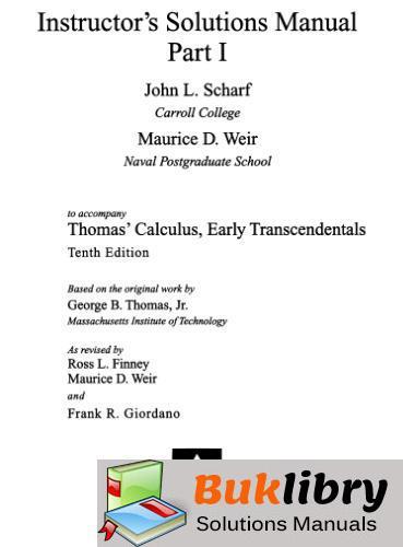 Thomas's Calculus