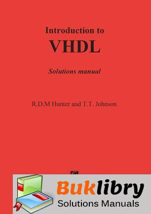 Introduction to Vhdl by Hunter