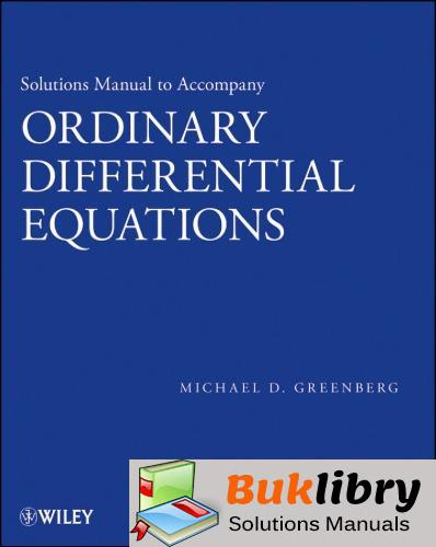 Ordinary Differential Equations by Greenberg