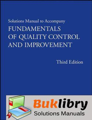 Fundamentals of Quality Control and Improvement by Mitra