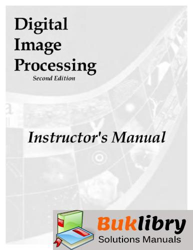 Digital Image Processing by Gonzalez & Woods